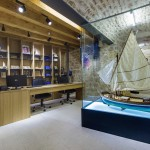 Museum reception and souvenir shop