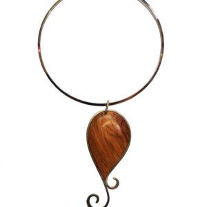 Ogrlica maslinovo drvo